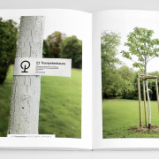 Innenseite Dokumentation neueingepflanzte Bäume